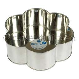 "View the 12"" / 305mm petal professional cake tin online at Cake Stuff"