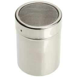 View the professional 4oz icing shaker / duster / sifter stainless steel online at Cake Stuff