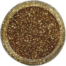 View the DARK GOLD JEWEL sparkle food contact glitter 5g online at Cake Stuff