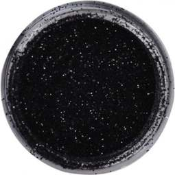 View the JET BLACK JEWEL sparkle food contact glitter 5g online at Cake Stuff