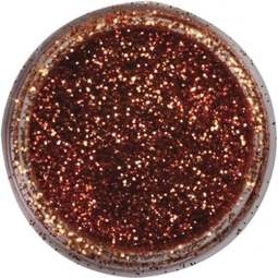 View the PENNY COPPER JEWEL sparkle food contact glitter 5g online at Cake Stuff