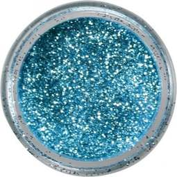 View the SKY BLUE JEWEL sparkle food contact glitter 5g online at Cake Stuff