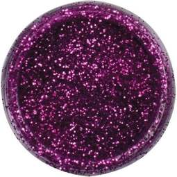 View the **CLEARANCE** FUCHSIA pink JEWEL sparkle food contact glitter 5g online at Cake Stuff