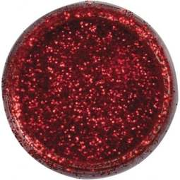 View the FIRE RED JEWEL sparkle food contact glitter 5g online at Cake Stuff