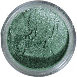 View the GALACTIC GREEN Silk Starlight 100% edible icing lustre dust online at Cake Stuff