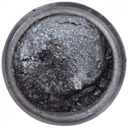 View the DARK SILVER Silk Metallic 100% edible icing lustre dust online at Cake Stuff