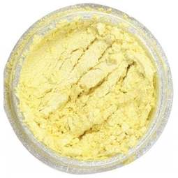 View the LEMON SORBET Silk Pearl 100% edible icing lustre dust online at Cake Stuff
