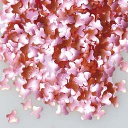 View the PINK BUTTERFLIES edible confetti sprinkles online at Cake Stuff