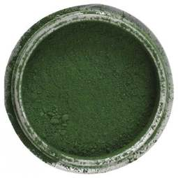 View the MOSS / AUTUMN GREEN Powder Colour 100% edible dust icing colouring 4g online at Cake Stuff