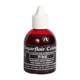 View the PINK 60ml airbrush liquid colouring online at Cake Stuff