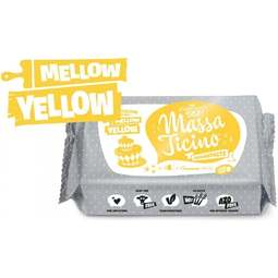 View the 250g MELLOW YELLOW sugarpaste ready to roll fondant icing online at Cake Stuff