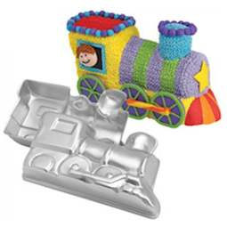 View the 3D Choo Choo Train cake tin baking pan online at Cake Stuff