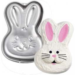 View the Bunny Rabbit step-by-step cake tin / pan online at Cake Stuff