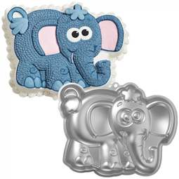 View the Elephant Dumbo novelty cake tin pan online at Cake Stuff