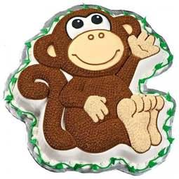 View the Monkey Chimp Gorilla cake tin / pan online at Cake Stuff