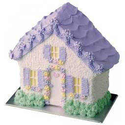 View the Stand Up 3D House / Kennel cake tin pan online at Cake Stuff
