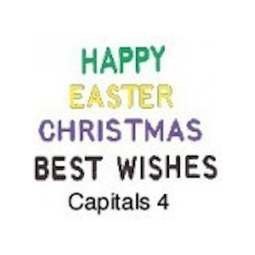 View the Capitals 4 - words icing embosser set online at Cake Stuff