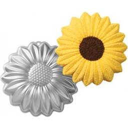 View the Sunflower daisy flower cake tin / pan online at Cake Stuff