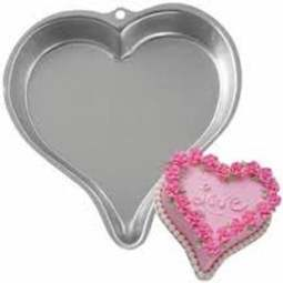 "View the **CLEARANCE** Sweetheart - 10"" heart cake tin / pan online at Cake Stuff"