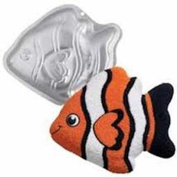 View the Tropial Fish Finding Nemo cake tin / pan online at Cake Stuff