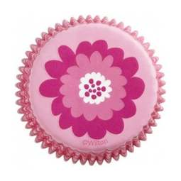 View the PINK PARTY cupcake baking cases - pk 75 online at Cake Stuff