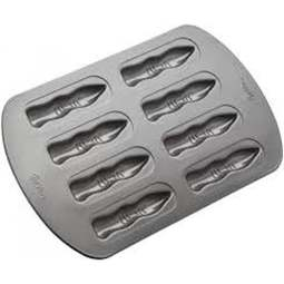 View the 8 cavity Hallowe'en Fingers mini cake cookie baking pan mould online at Cake Stuff