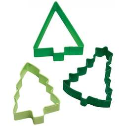 View the Christmas Tree set of 3 icing cookie cutters online at Cake Stuff
