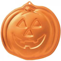 View the Jack O Lantern Pumpkin Hallowe'en cake tin pan online at Cake Stuff
