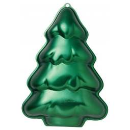 View the Christmas Tree Iridescents cake tin baking pan online at Cake Stuff