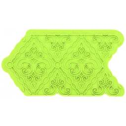 View the Filigree Damask Onlay silicone sugarcraft icing mould online at Cake Stuff