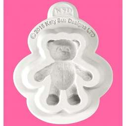 View the Baby Teddy Bear silicone sugarcraft mould online at Cake Stuff