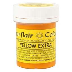 View the YELLOW EXTRA max concentrated paste gel icing / food colouring 42g online at Cake Stuff