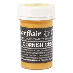View the CORNISH CREAM Pastel paste gel icing / food colouring 25g online at Cake Stuff