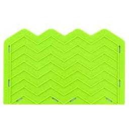 View the Medium Chevron Onlay silicone sugarcraft icing mould online at Cake Stuff