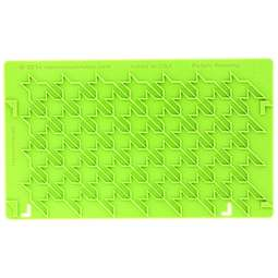 View the Houndstooth Onlay silicone sugarcraft icing mould online at Cake Stuff