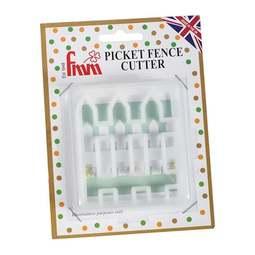 View the PICKET FENCE icing & gumpaste cutter online at Cake Stuff
