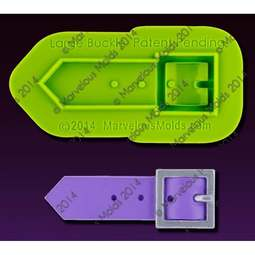 View the Elisa Strauss LARGE BUCKLE silicone icing mould set online at Cake Stuff