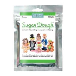 View the GREEN SUGAR DOUGH edible modelling paste 200g online at Cake Stuff