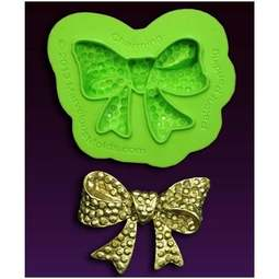 View the Marina Sousa CHARMING bow silicone icing mould set online at Cake Stuff