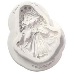 View the Sugar Buttons PRINCESS silicone mould online at Cake Stuff