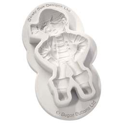 View the Sugar Buttons PIRATE silicone mould online at Cake Stuff