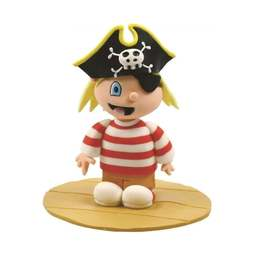 View the PIRATE BOY claydough cake topper decoration online at Cake Stuff