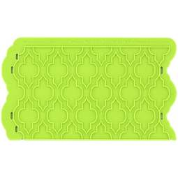 View the Moroccan Lattice Onlay silicone sugarcraft icing mould online at Cake Stuff