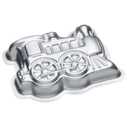 View the TRAIN 3D cake tin baking pan online at Cake Stuff