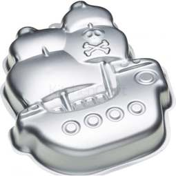 View the SHIP 3D cake tin baking pan online at Cake Stuff