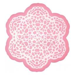 View the FLOWER LACE silicone edible lace icing mat online at Cake Stuff