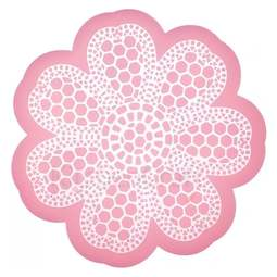 View the DAISY LACE silicone edible lace icing mat online at Cake Stuff