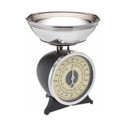 View the Black Enamelled Mechanical Kitchen Scale 2kg online at Cake Stuff