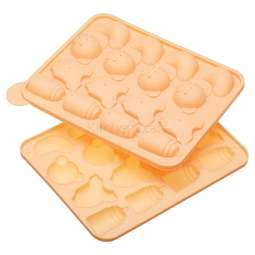 View the BABY silicone 16 hole cake pop 2 piece mould baking pan online at Cake Stuff