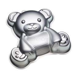 View the TEDDY BEAR 3D cake tin baking pan online at Cake Stuff